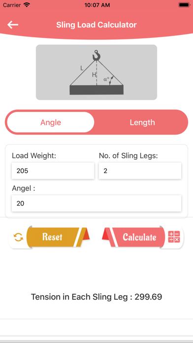 Sling load N Weight Converter screenshot 3