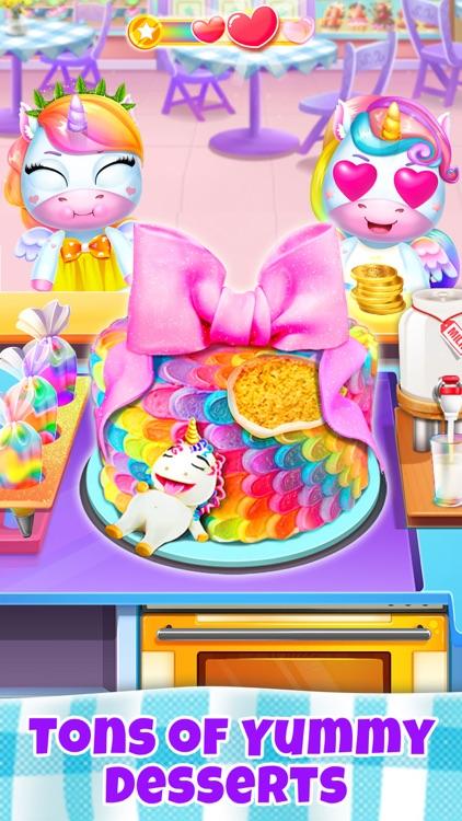 Unicorn Restaurant: Food Games