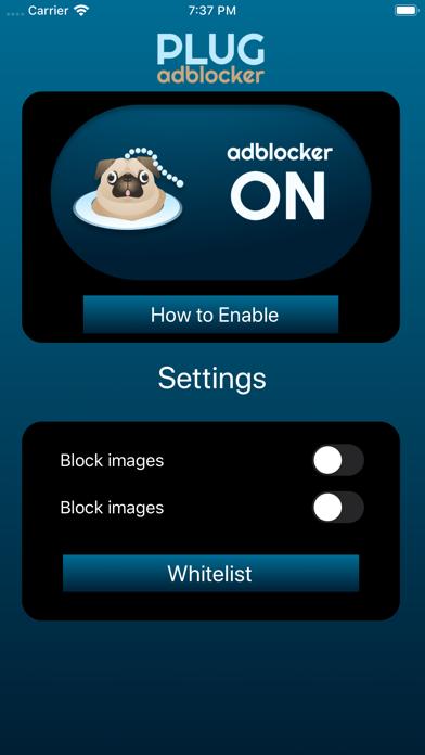 Plug Adblocker screenshot #2