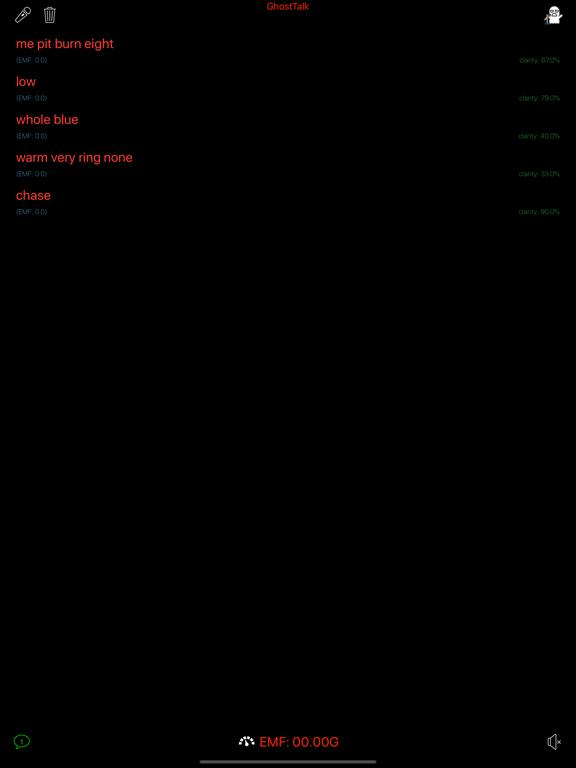GhostTalk Screenshots