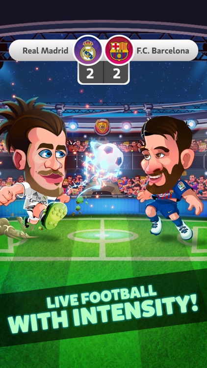Head Soccer Games La Liga 2019 screenshot-0