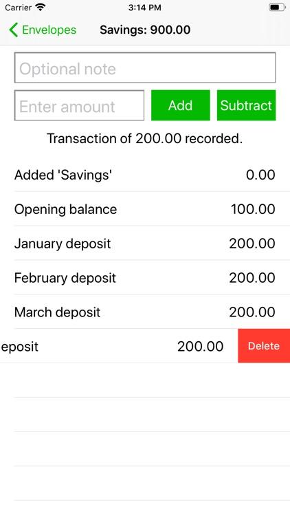 Simple Budget Envelopes screenshot-6