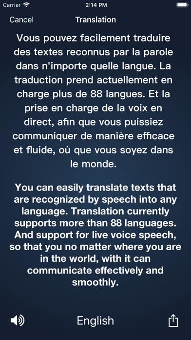 Dictée vocale - Speechy