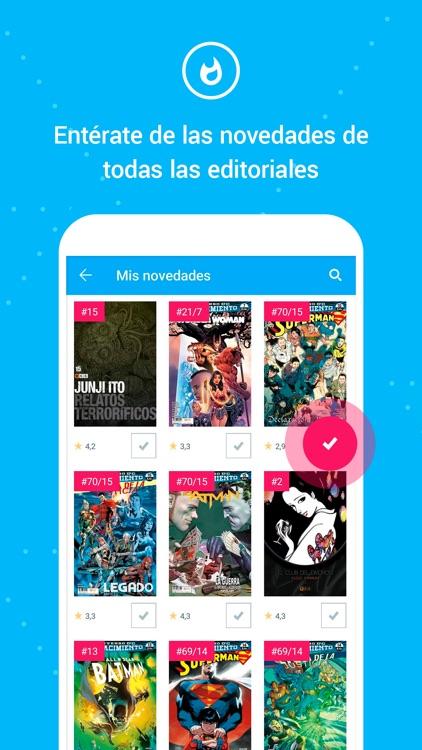 Whakoom ¡Organiza tus cómics! screenshot-3