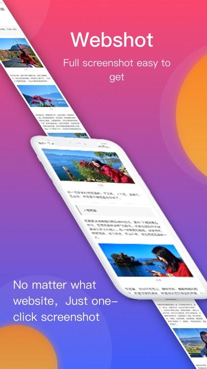 WebShot - Webpage Screenshot screenshot-0