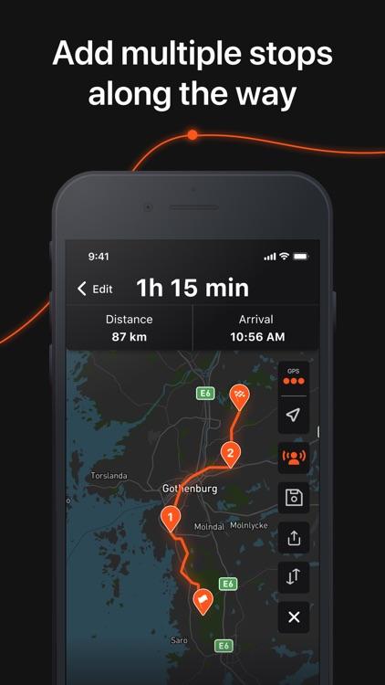 Detecht - Motorcycle App & GPS screenshot-3