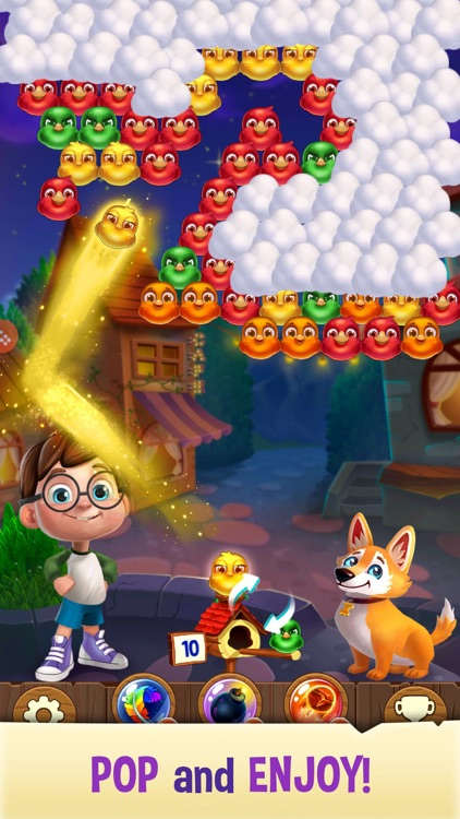 Bubble Birds V - Shooter screenshot-4