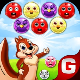 Bubble Shooter Squirrel POP