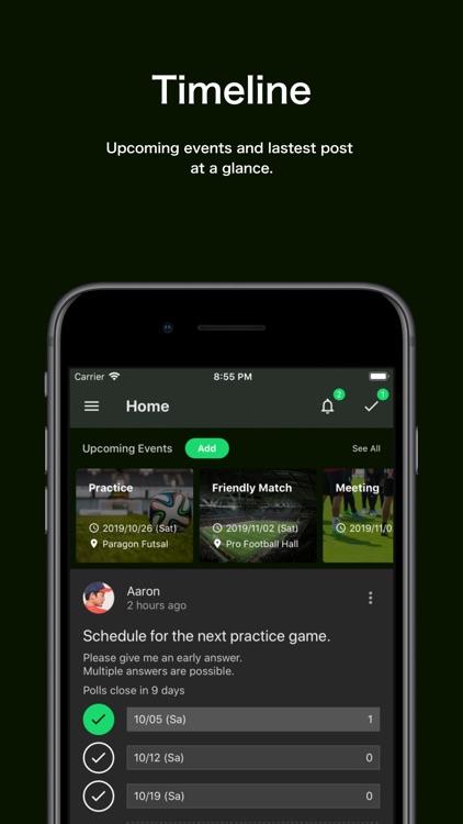 TeamHub - Manage Sports Teams screenshot-3