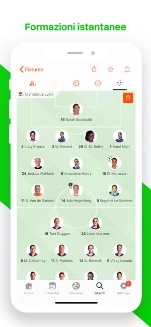 Forza Football Live Scores Su App Store