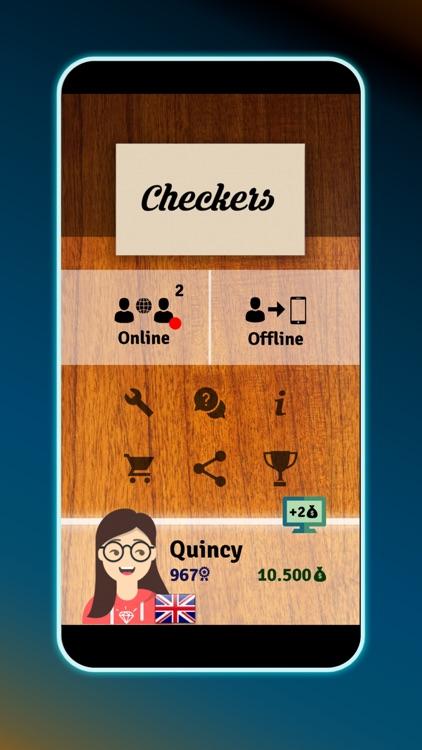 Checkers - Online Board Game screenshot-8