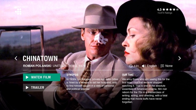 MUBI: Curated Cinema on the App Store