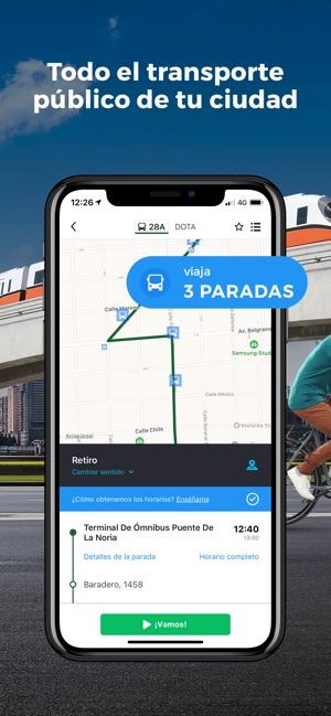 Aplicacion para horarios de omnibus