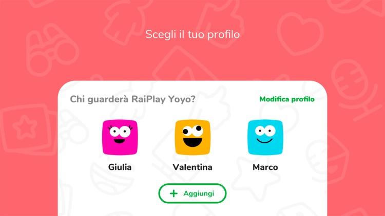RaiPlay Yoyo screenshot-4