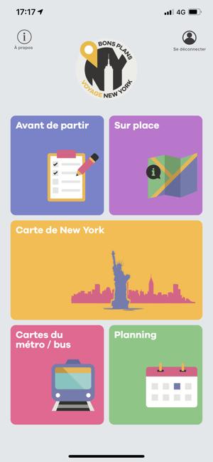 foto de Bons Plans Voyage New York dans l'App Store