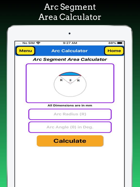 Arc Calculations screenshot 12