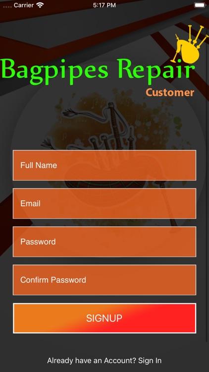 Bagpipes Repair Customer screenshot-3
