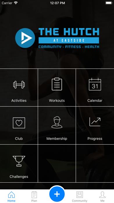The Hutch Fitness Hub screenshot 1