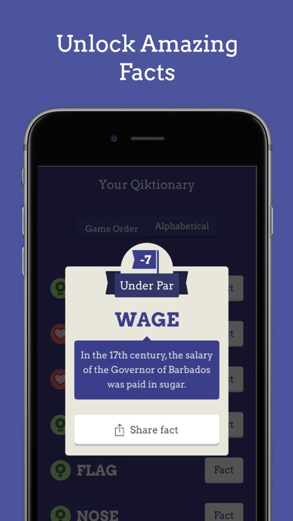 Qiktionary – The 4-letter Game screenshot-2
