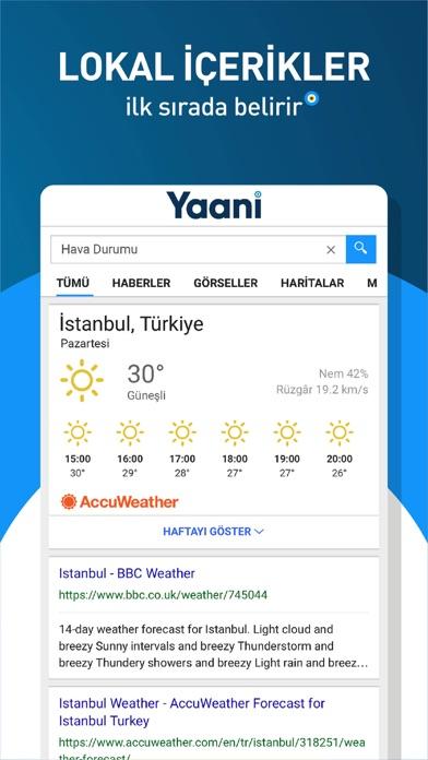 Screenshot for Yaani in Turkey App Store