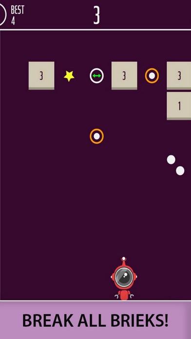 Ball Bricks Breaker Number 204 screenshot 1