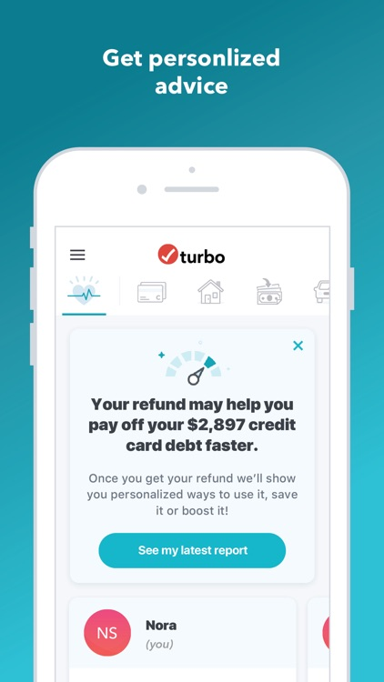 Turbo: Scores-Income & Credit screenshot-0