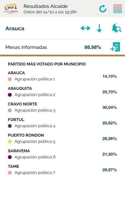 Elecciones Colombia 2019 screenshot-3