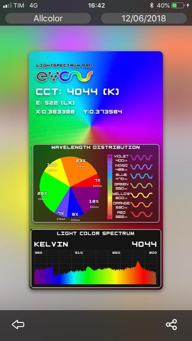 Screenshot for LightSpectrum Pro in Germany App Store