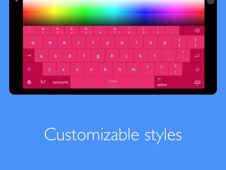 Pro Keyboard with PC Layout screenshot-4