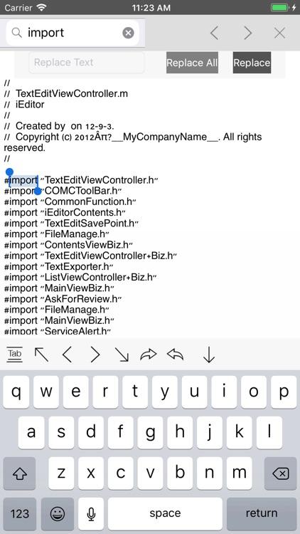 iEditor – Text Code Editor screenshot-7