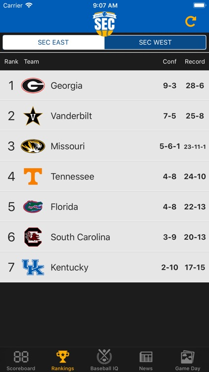 SEC Baseball screenshot-1