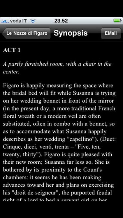 Opera: The Marriage of Figaro screenshot-3