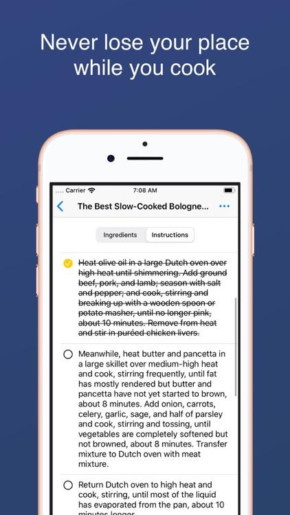 Smart Recipe Organizer