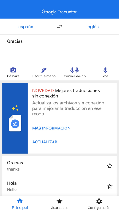 Screenshot for Google Traductor in Peru App Store