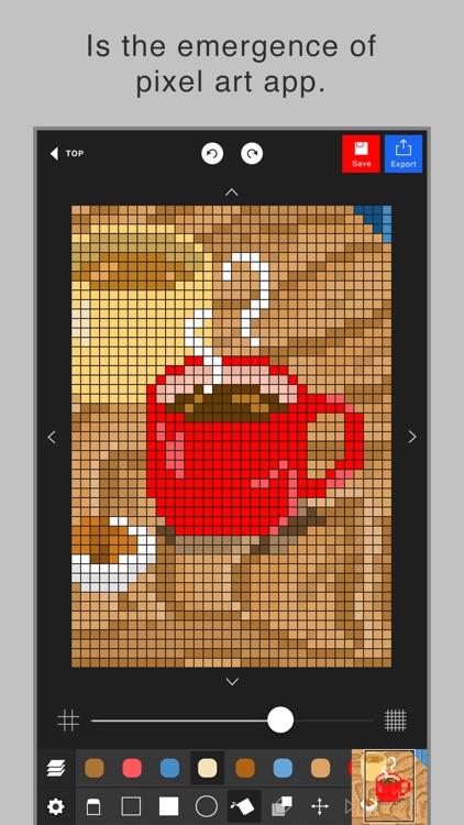 Pixel art editor - Dottable -
