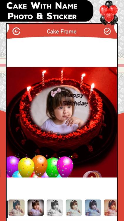 Cake With Name Photo & Sticker screenshot-4