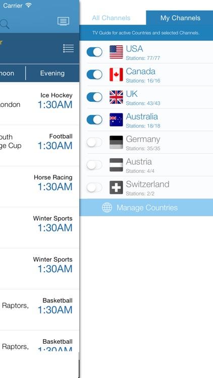 Live Sport TV Listing Guide by Gregor Jutrisa