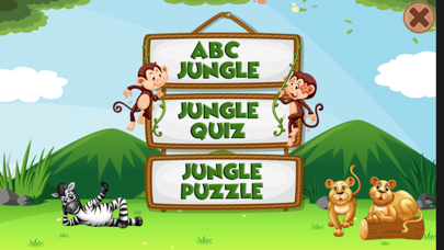 ABC Jungle Pre-School Learning screenshot two