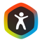 App Icon for Argus Stappen Calorieën Teller App in Belgium IOS App Store
