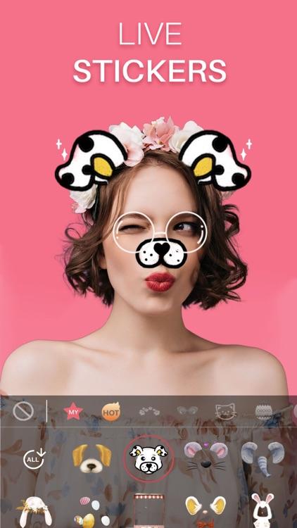 Sweet Face Camera: Selfie Edit screenshot-0