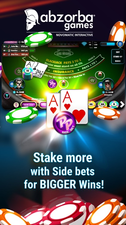 Blackjack 21 ∙ cards game screenshot-1