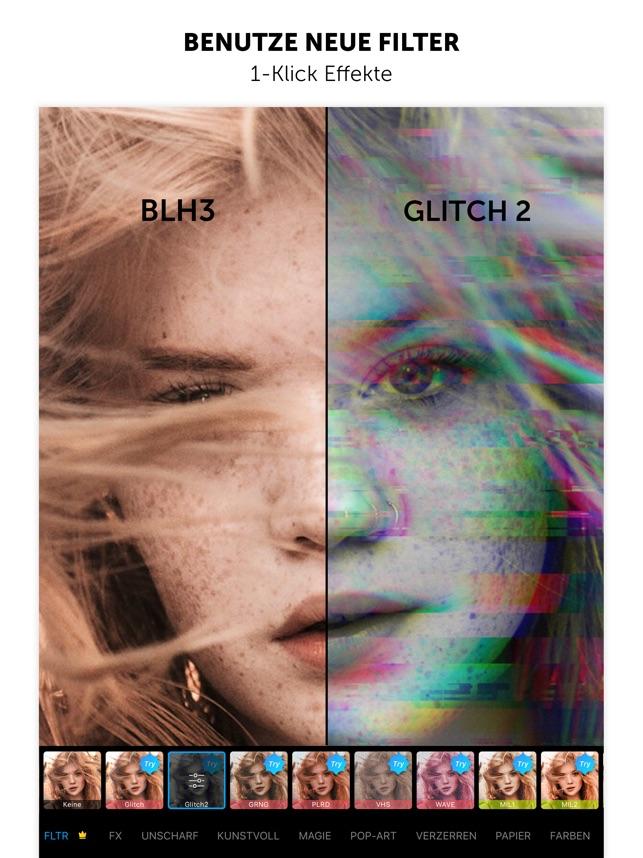 PicsArt Bilder bearbeiten Screenshot