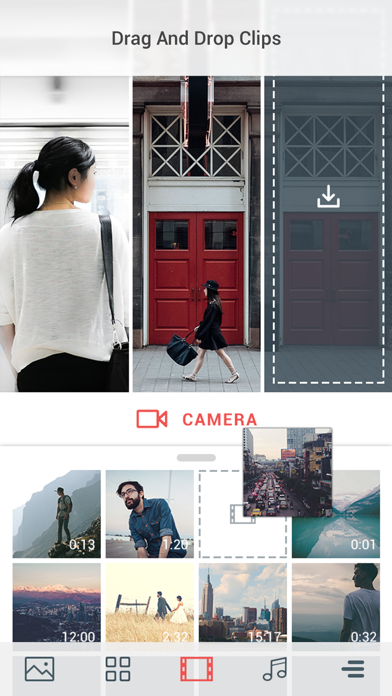 Cinepic - Create Mesmerizing 15-Second Video Collages screenshot