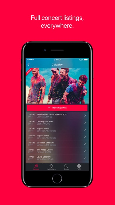 Songkick Concerts wiki review and how to guide