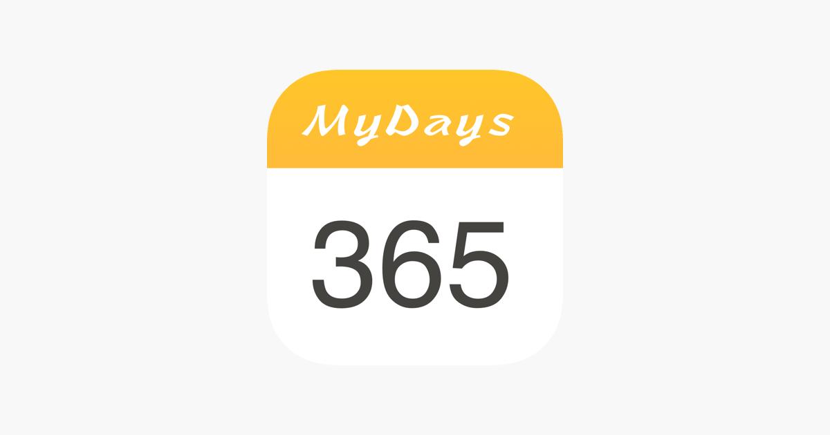 Countdown Mydays On The App Store