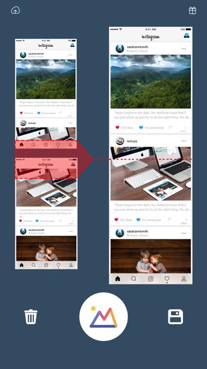 Long Pic Stitch Collage Maker screenshot-5