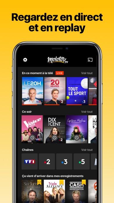 download Molotov - TV en direct, replay apps 4