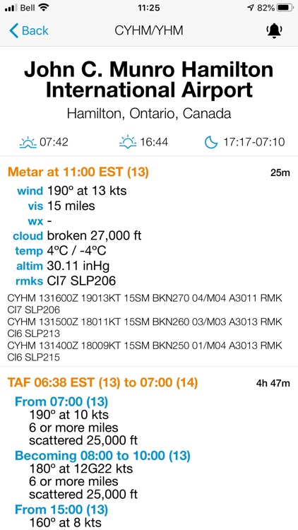 Minimums - METAR/TAF Analysis screenshot-4