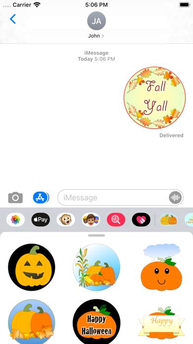 fall greetings screenshot 2