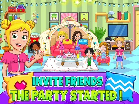 My City : Pajama Party для iPad